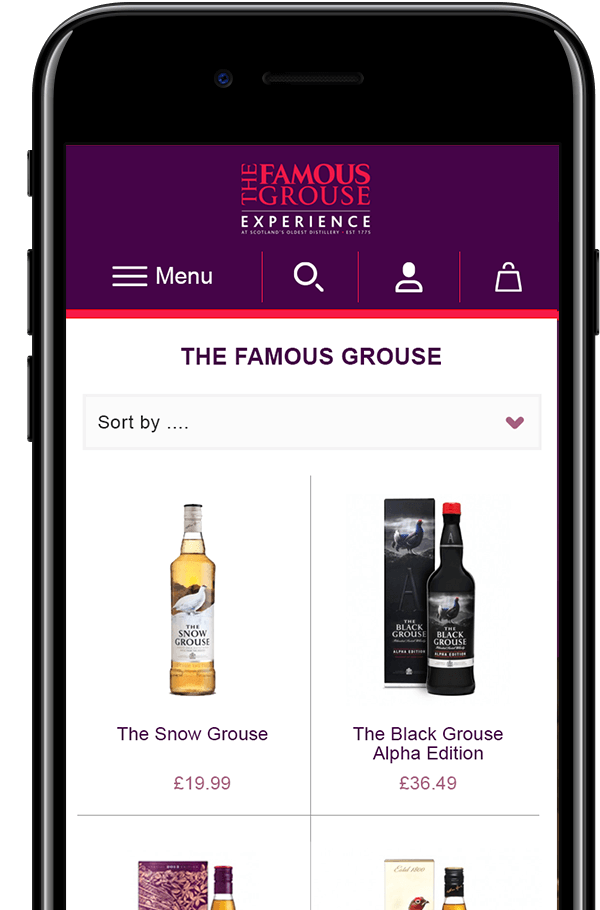 The Famous Grouse Experience results