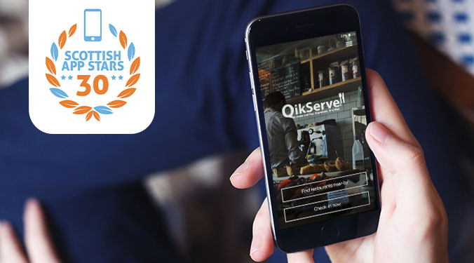 Interview with QikServe – Scottish Mobile App Star