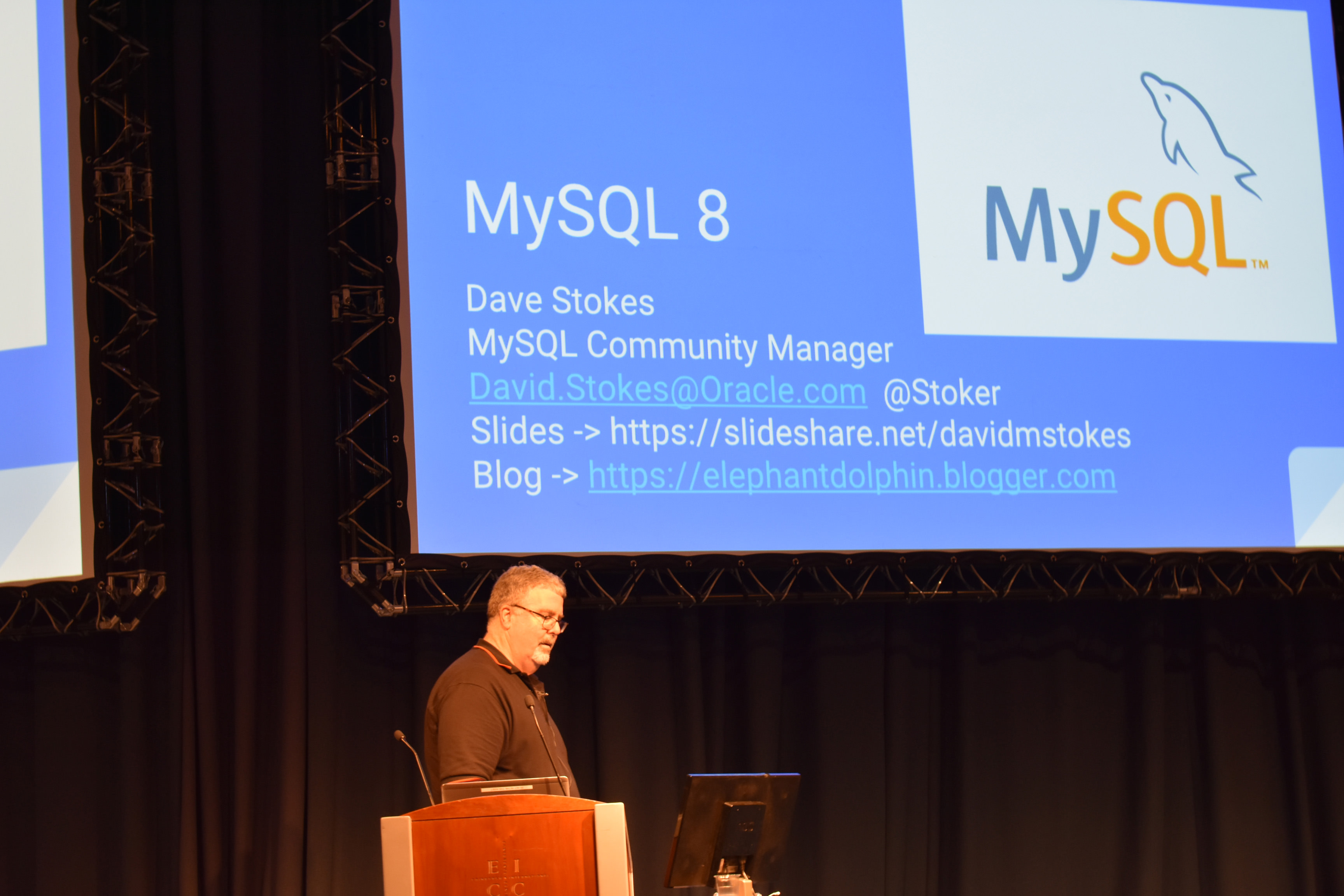 Dave Stokes - MySQL 8 -- A New Beginning
