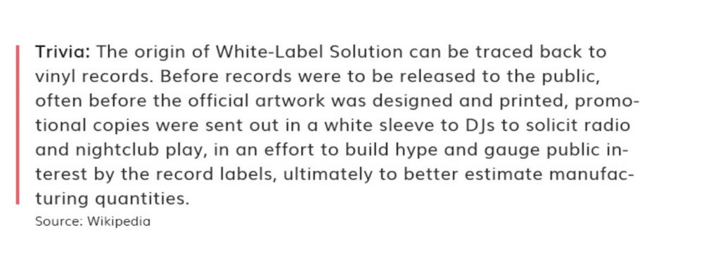 White-Label Solution Mobile Application Wikipedia