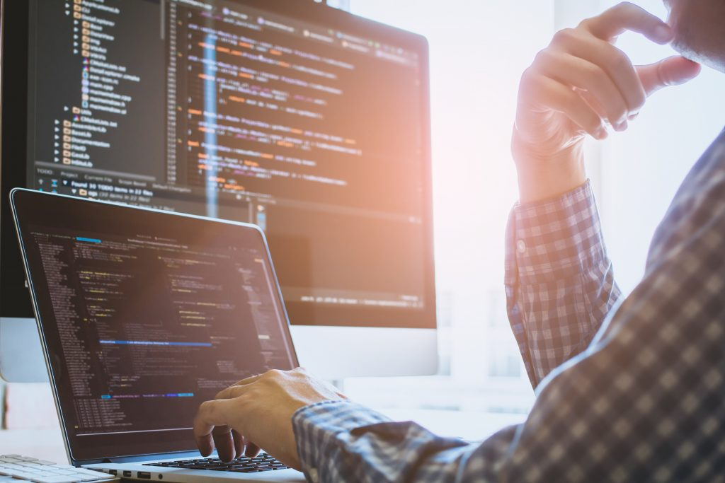 data developer at computer