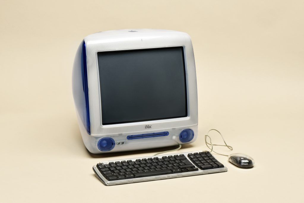 Apple iMac computer from 1998